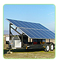 solar for electric genset