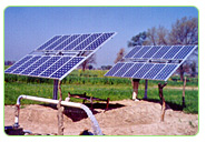 the solar pumps for irrigation