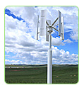 vertical shaft axis wind turbines vawt